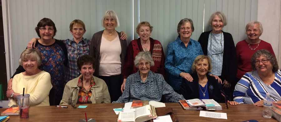 The ladies of Saint Andrew's TWIBS group.