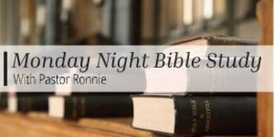 Monday Night Bible Study