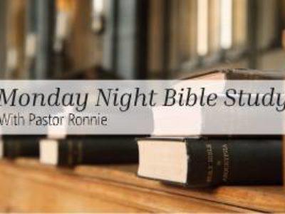 Monday Night Bible Study